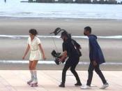 Tournage du clip Brésil, Finistère