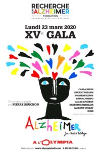 Concert - XVème Gala de la Fondation pour la Recherche sur Alzheimer @ Olympia à Paris