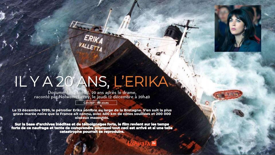 Ushuaia TV - Erika, chronique d'une marée noire