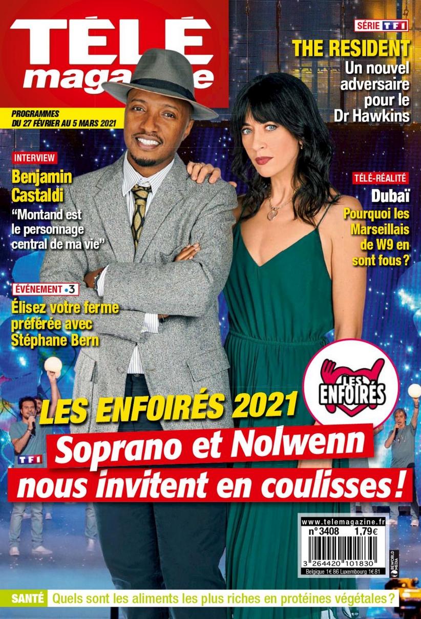 La presse des Enfoirés 2021 210217_telemagazine-01